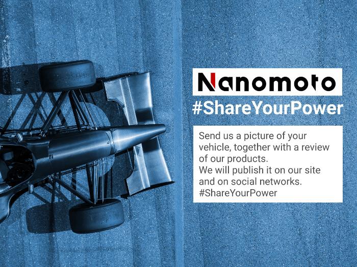 Nanomoto share your power