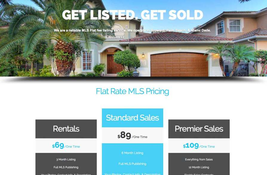 Flat Rate MLS Florida