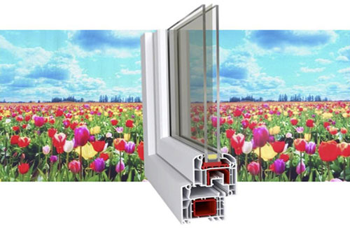 quantum dot window