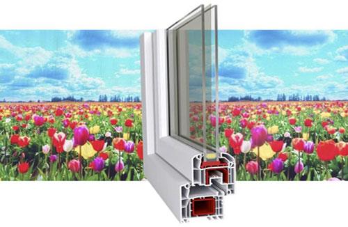 quantum dot window