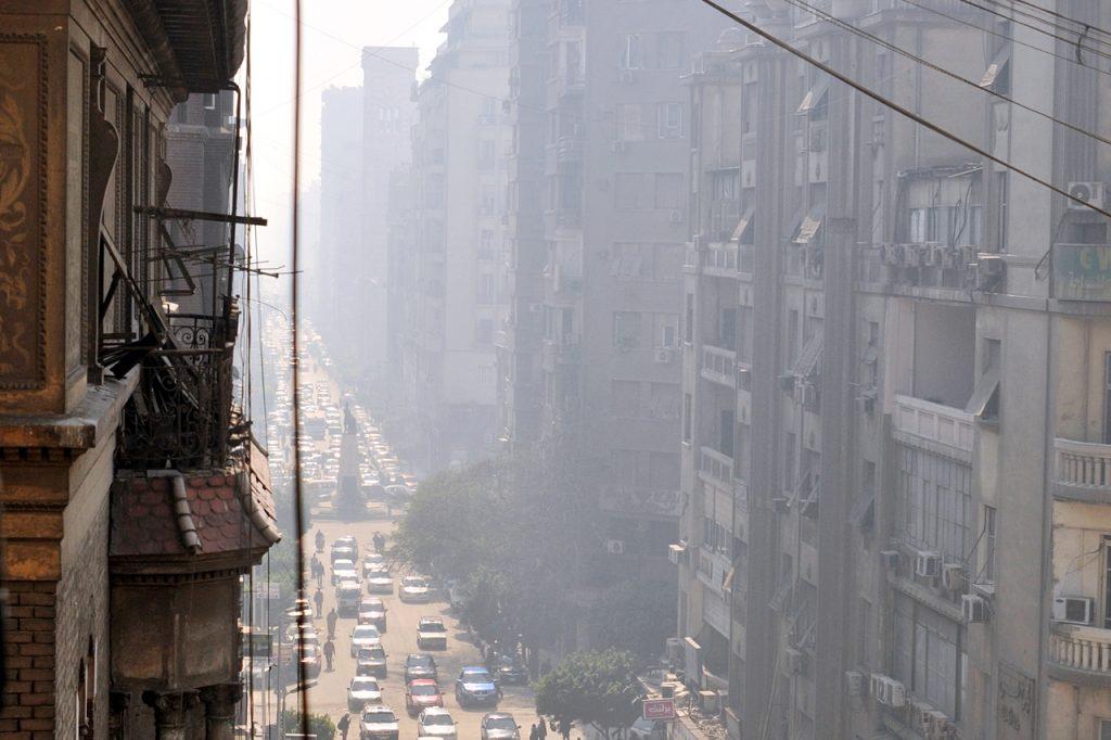 smog w kairze