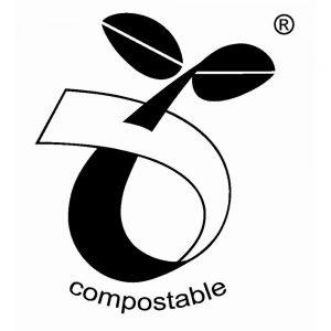kompostowalne symbol