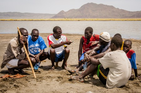 Subsistence fishermen on Kenya's remote Lake Turkana are learning that intensive water extractions by Ethiopian commercial agriculture will ruin their lake and fisheries.