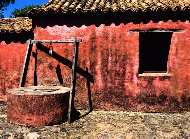 Typical example of the historic buildings found all over the well preserved area of Colonia el Sacramento.