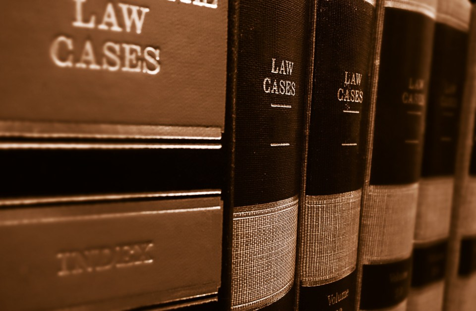 Photo of law  books.