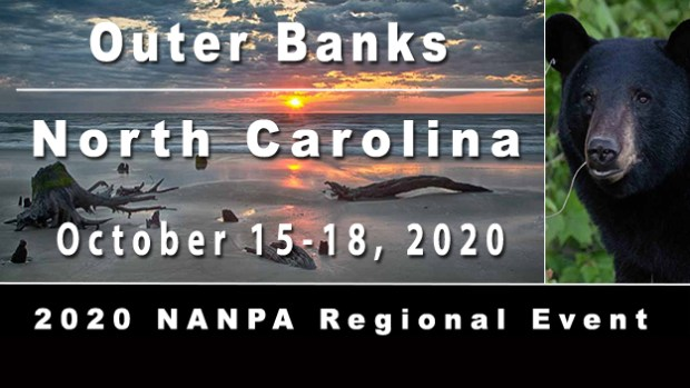 Outer Banks, NC regional event October 15-18, 2020