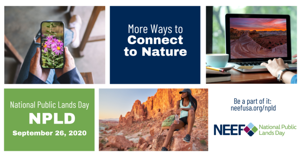 National Public Lands Day 2020 logo © NEEF