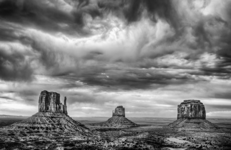The Famed Mittens, Calling Card of Monument Valley Tribal Park © Jerry Ginsberg