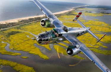 Chris Rose shot of a B25 named Panchito
