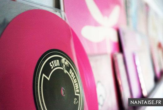 Vinyls colorés à Nantes