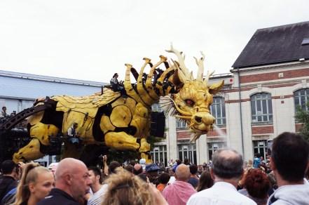 Long Ma le cheval dragon en août 2015 à Nantes - Nantaise (11)