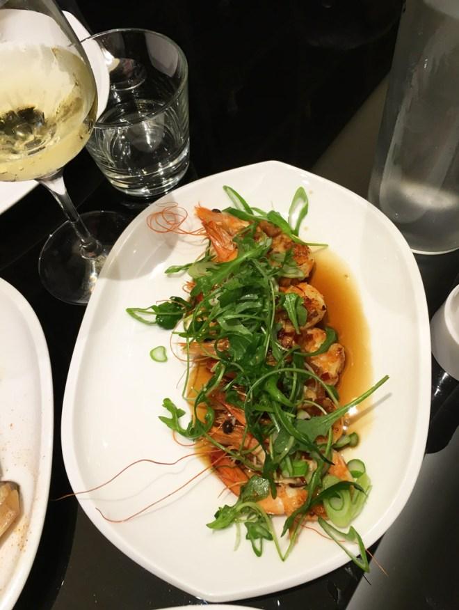 Test de la Brochette de crevettes au citron de Chez Franklin, restaurant bistrot à Nantes