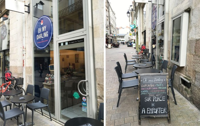 Oh my darling est un salon de thé et de pâtisseries : cupcakes, gateaux... à Nantes