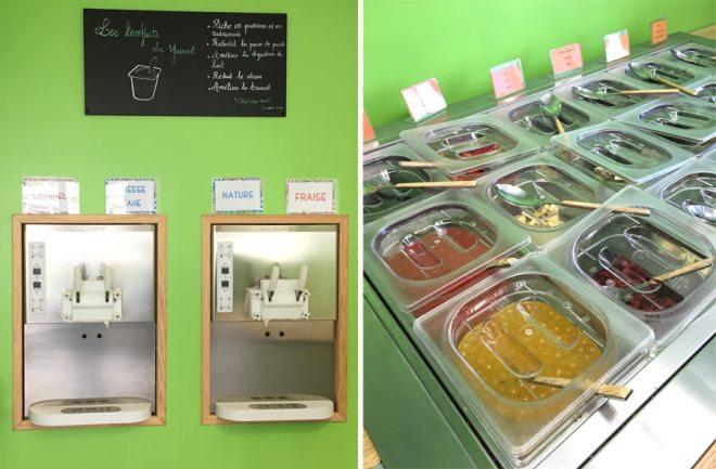 Yogout : frozen yogurt à Nantes