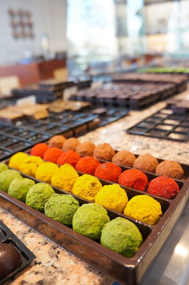 Truffes au chocolat de chez Castelanne à Nantes