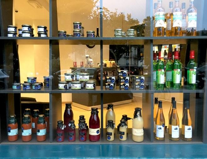 Les produits dégustés chez Dans le noir à Nantes
