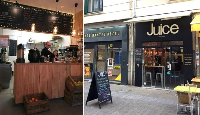 Juice, restaurant végétarien à Nantes