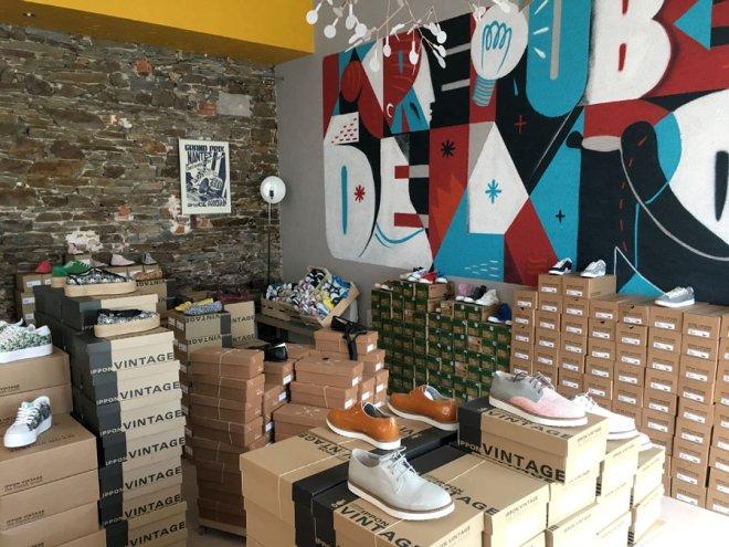 Ippon vintage chaussures de créateurs à Nantes