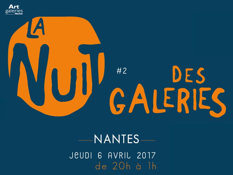La nuit des galeries à nantes en avril 2017