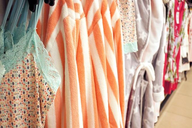 Collection lingerie à Leclerc Orvault grand val