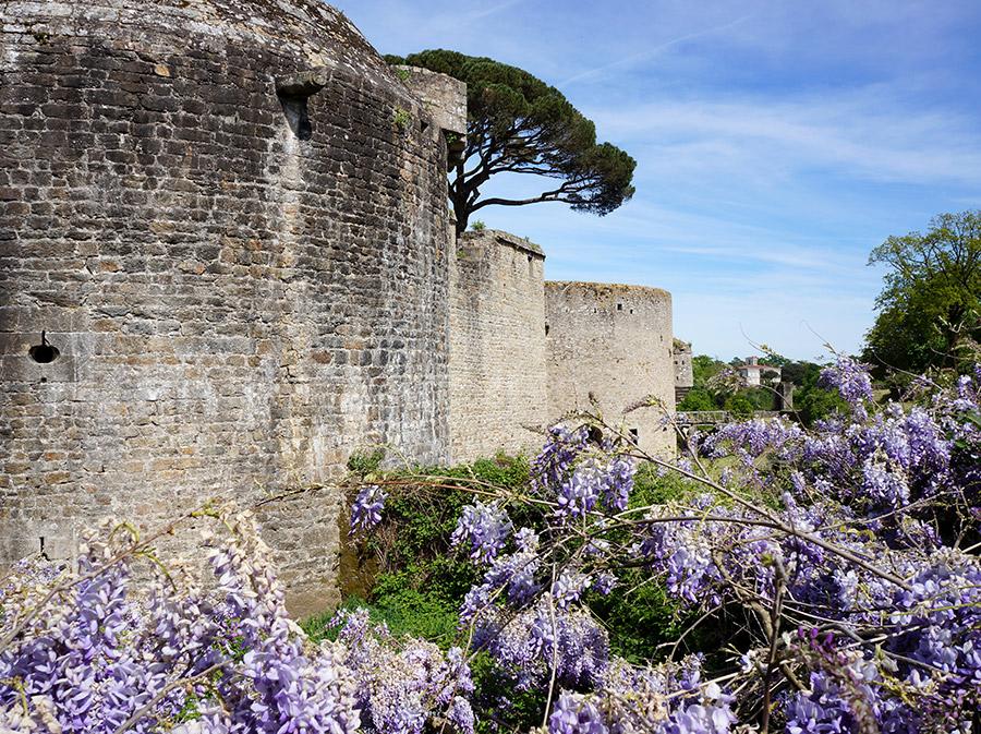Le Château de Clisson en Loire-Atlantique