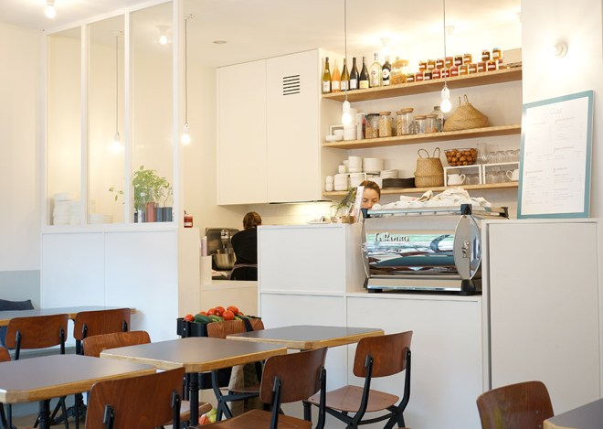 Le restaurant moderne Glaz à Nantes