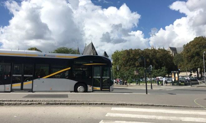 Le busway à Nantes