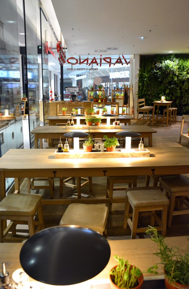 Avis restaurant Vapiano Nantes Atlantis