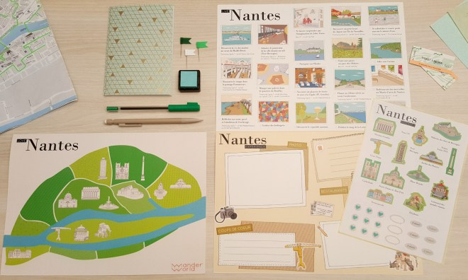 Love Nantes par Wanderworld Maps