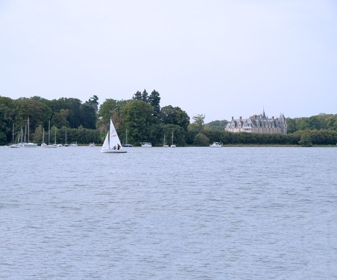 Promenade sur l'Erdre avec Les bateaux nantais