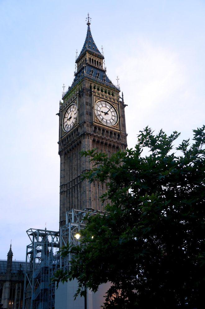 Big Ben et Houses of parliament à Londres
