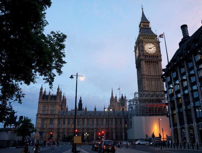 Houses of parliament à Londres