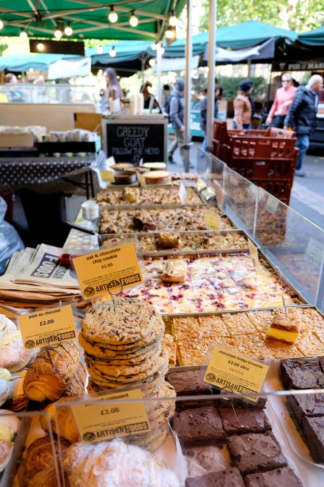 Borough market : marché alimentaire à Londres