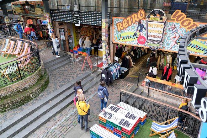 Camden town : quartier punk du Nord de Londres et son marché