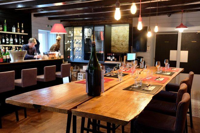 Chez Fernand, restaurant situé à Saint-Herblain, à côté de Nantes