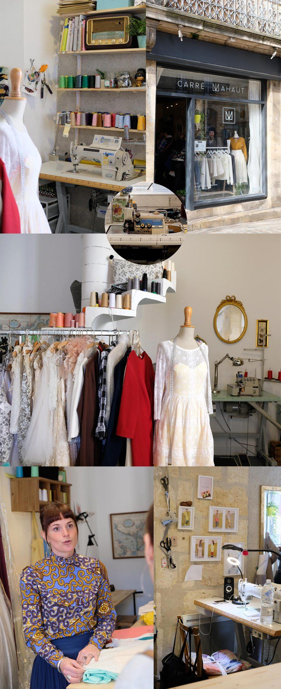 Carré Mahaut, boutique de vêtements de créateur à Bordeaux