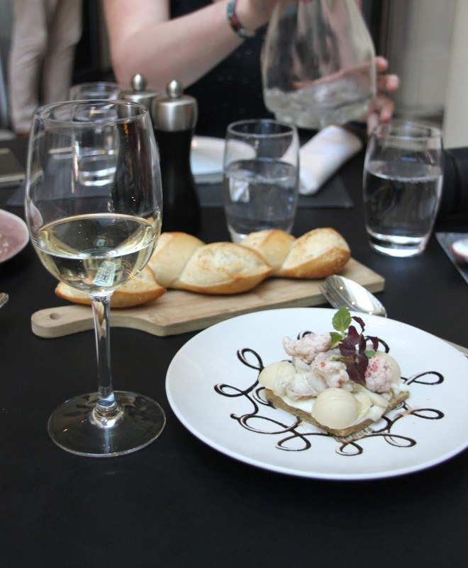 Dîner partagé au Radisson blu Nantes dans le restaurant gastronomique l'Assise