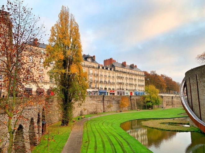 Balade au Château des Ducs de Bretagne à Nantes pour profiter des couleurs d'automne
