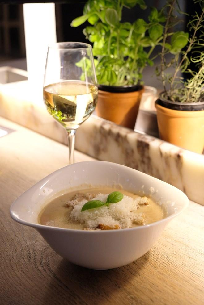 Soupe castagne chez Vapiano Nantes Atlantis