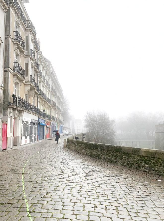 Balades à Nantes le long de la ligne verte en février 2019