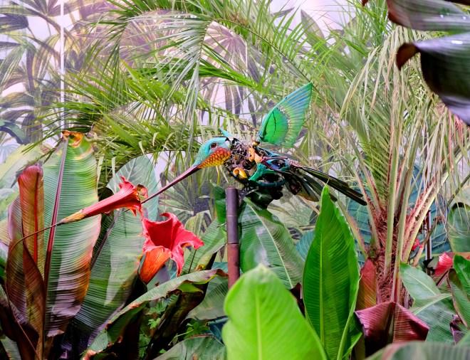 Le Colibri du Jardin extraordinaire aux Floralies de Nantes