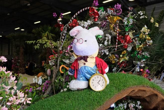 Alice au Pays des merveilles aux Floralies de Nantes