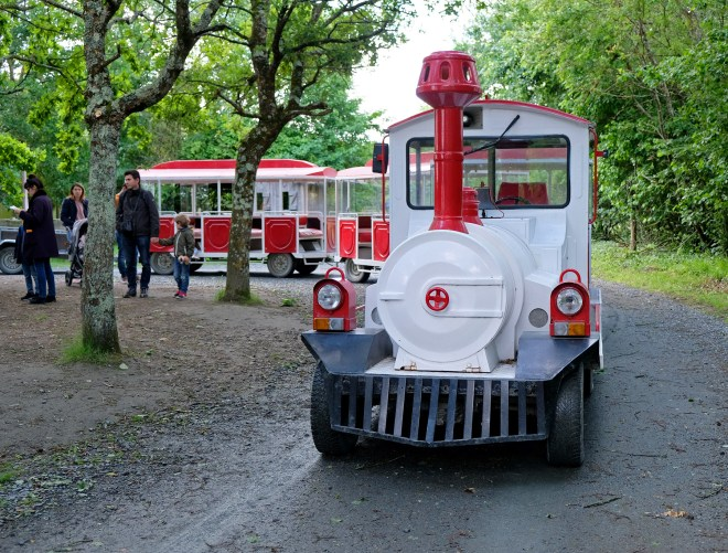 Petit train du Legendia parc
