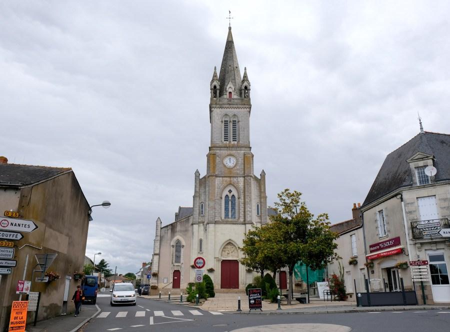 Balade à Oudon et visite de l'Eglise Saint Martin