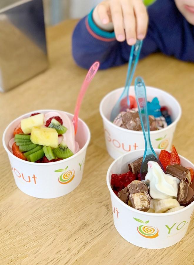 Frozen yogurt chez Yo.Gout à Nantes