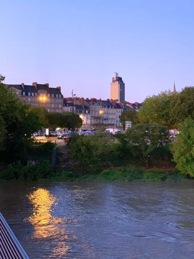 Nantes la nuit