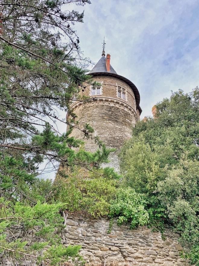 Château de Pornic, en Loire-Atlantique