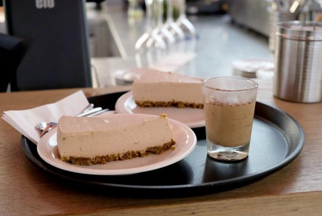 Cheesecake à la noisette chez Vapiano Nantes Atlantis