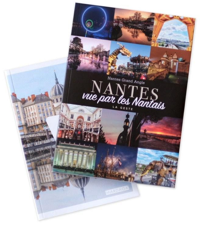 Deux livres sur Nantes : Aimer Nantes et Nantes vue par les Nantais