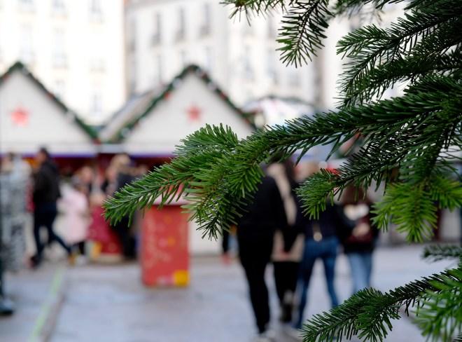 Marché de Noël à Nantes en décembre 2019